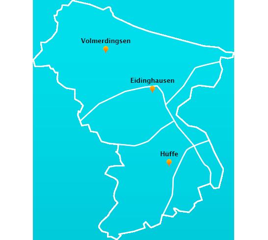 Stadtteile Winterdienst Schnee- Eisbeseitigung Bad Oeynhausen